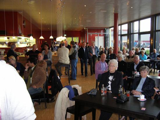 De jammiddag van 2 november 2008 leverde een vol Cool Café op.