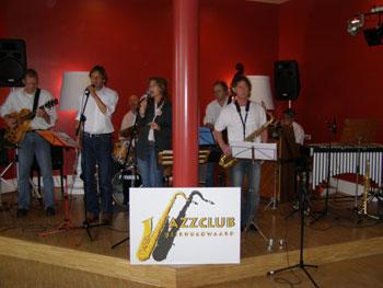 Jazz InDeeD in het Cool Café (oktober 2009)