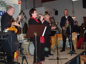 """Just Friends in de Foyer van de """"tijdelijke"""" Schakel (januari 2007)"""